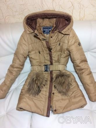 Детская зимняя куртка-пуховик DeSalitto Италия на рост 140-150 (указан 150, но п. Киев, Киевская область. фото 1
