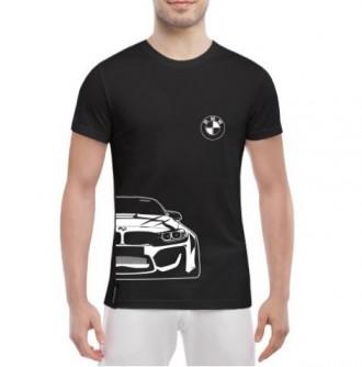 Мужская футболка - BMW-M4. Сарата. фото 1