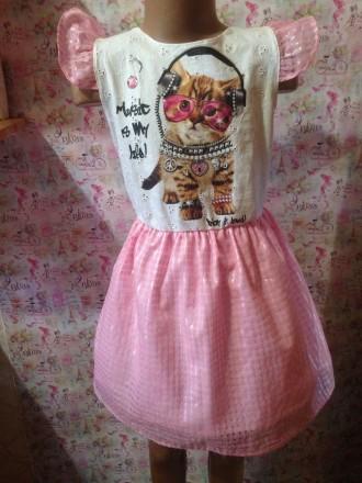 платья для девочки 7-8 лет,рост 120,130 длина юбки 33,34см. Кривой Рог, Днепропетровская область. фото 2