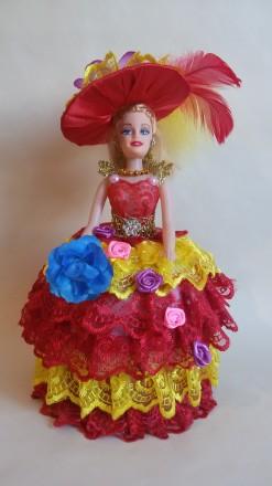 Кукла-шкатулка красивый подарок для любого возраста. Яркие, красивые с секретом. Теплодар, Одесская область. фото 2