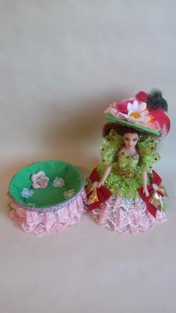 Кукла-шкатулка красивый подарок для любого возраста. Яркие, красивые с секретом. Теплодар, Одесская область. фото 8