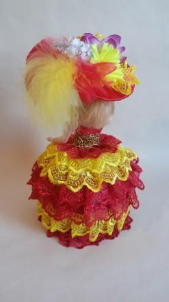 Кукла-шкатулка красивый подарок для любого возраста. Яркие, красивые с секретом. Теплодар, Одесская область. фото 4