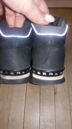 Ботинки на мальтчикаTimberland  в хорошем состоянии по стельке  22 см. Мелитополь, Запорожская область. фото 5