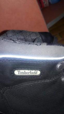 Ботинки на мальтчикаTimberland  в хорошем состоянии по стельке  22 см. Мелитополь, Запорожская область. фото 11