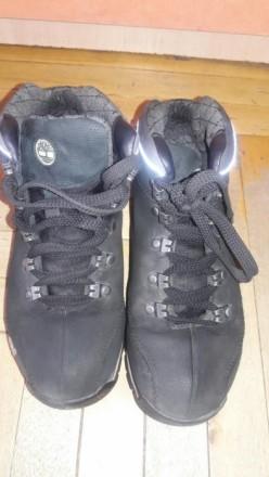 Ботинки на мальтчикаTimberland  в хорошем состоянии по стельке  22 см. Мелитополь, Запорожская область. фото 9