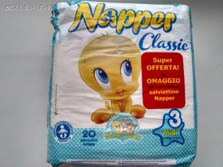 Napper classic3 (16шт. ) -поштучно, 1шт- 2.50 грн.  -   40.00 грн  Piccolino b. Тернополь, Тернопольская область. фото 7