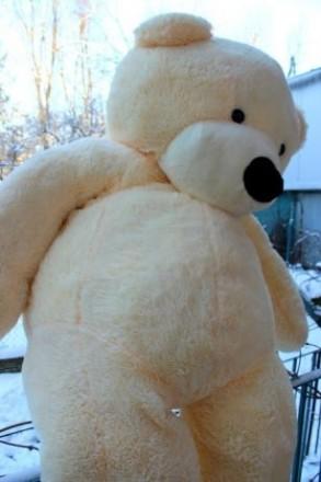 Величезний плюшевий мішка 1 м і 90 см :) Найкращий подарунок для коханої :))) ч. Львов, Львовская область. фото 2