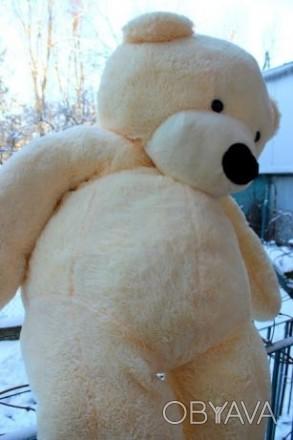 Величезний плюшевий мішка 1 м і 90 см :) Найкращий подарунок для коханої :))) ч. Львов, Львовская область. фото 1