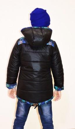 Модная , лёгкая, не прихотливая в стирке куртка на мальчика. Цвет: электрик, тём. Кременчуг, Полтавская область. фото 6