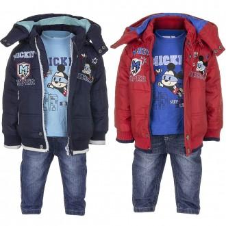 Костюм для мальчика, демисезонный, Disney, куртка, джинсы, штаны, реглан, кофта.. Винница. фото 1