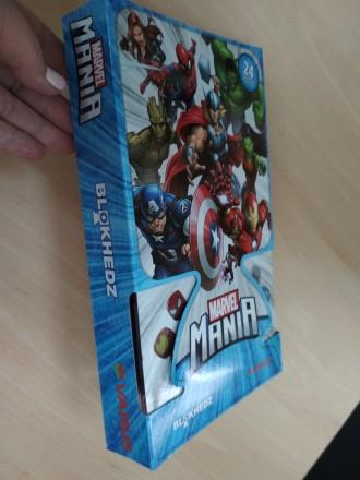 Игра Marvel Mania BlokHedz в коробке. Днепр. фото 1