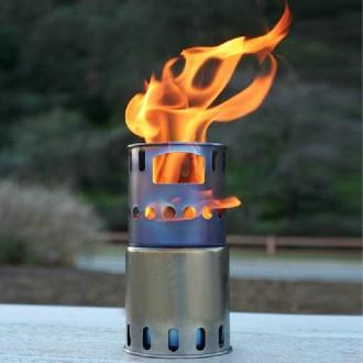 Титановая печка щепочница из титана TOAKS (маленькая) Титан. Щепочниця.. Львов. фото 1