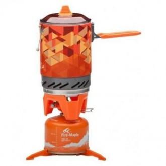 Система для приготовления пищи 1000ml.,газовая горелка Fire Maple FMS X2. Львов. фото 1
