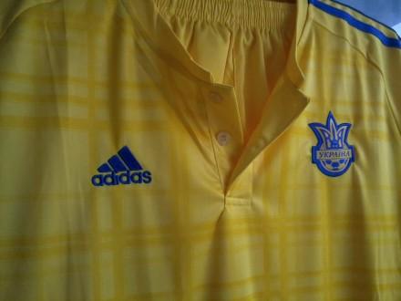 Форма футбольная Сборная Украина Жёлтая. Херсон. фото 1
