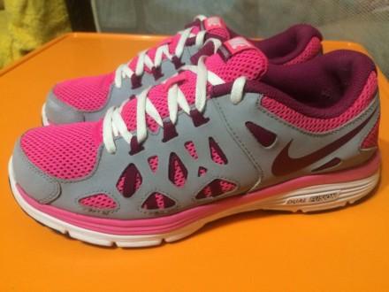 Продам оригинальные кроссовки Nike dual fusion run 2 38 р 24, 5 см. Киев. фото 1