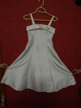Элегантное праздничное нарядное платье для девочки. Чернигов. фото 1