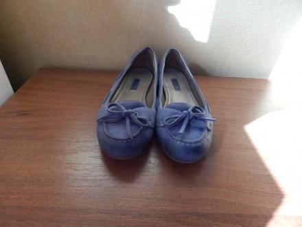 Мокасины ecco 36-й размер, балетки, туфли. Чернигов. фото 1