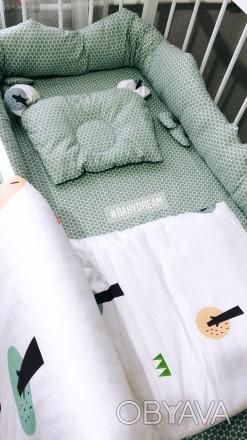 Комплект детского постельного белья от BabyDream: простынка, одеялко и ортопедич. Кривой Рог, Днепропетровская область. фото 1