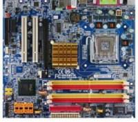 Материнская плата Gigabute GA-8I915ME, CPU Celeron 2,66 DDR400 1Gb ( 512mb x 2). Киев. фото 1