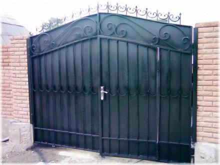 Наше предприятие изготовит кованые ворота хорошего качества .Выезд мастера на за. Кривой Рог, Днепропетровская область. фото 5
