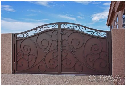 Наше предприятие изготовит кованые ворота хорошего качества .Выезд мастера на за. Кривой Рог, Днепропетровская область. фото 1