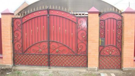 Наше предприятие изготовит ворота с профлиста любой сложности.Выезжаем на замер . Кривой Рог, Днепропетровская область. фото 6