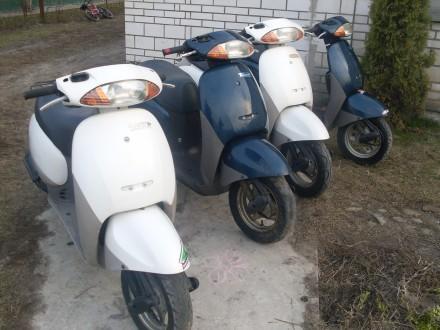 Продам мотороллеры б/у Япония Yamaxa Honda Suzuki без пробега по Украине.. Киев. фото 1
