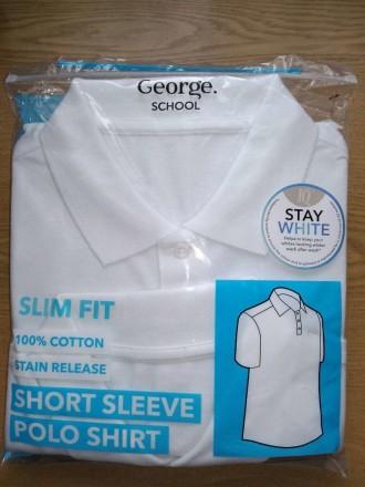 Школьная футболка - поло George. Код 171003. Киев. фото 1