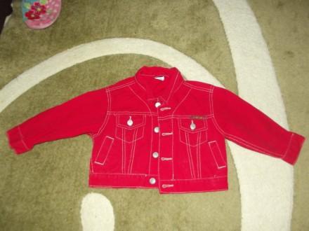 Джинсовый пиджак. Кременчуг. фото 1
