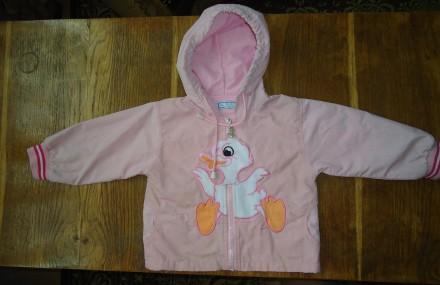 Классная куртка ветровка для девочки 1,5-2 года р.86-92. Яворов. фото 1