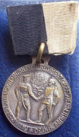Медаль 1812-1912 .100 років російсько - німецькому легіону.. Киев. фото 1