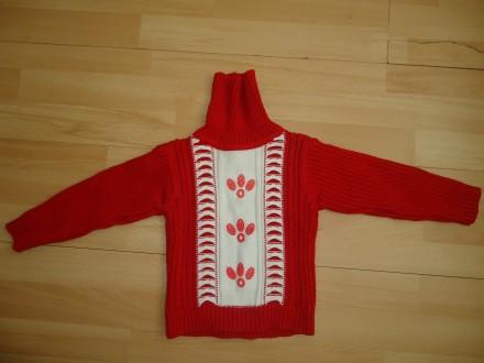 Удобный и очень теплый свитер гольф  р.92-98. Яворов. фото 1