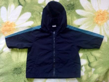 Ветровка, куртка, курточка мальчику 6-9 мес.. Полтава. фото 1