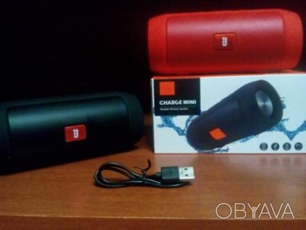 Тип: портативная колонка с Bluetooth Модель: Charge mini 2+ Интерфейсы: AUX, T. Чернигов, Черниговская область. фото 1