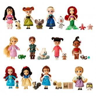 Подарочный набор 12 мини кукол с питомцами в детстве Аниматор. Киев. фото 1
