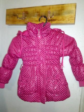 Демисезонная курточка для девочки 2-3 года. Пологи. фото 1