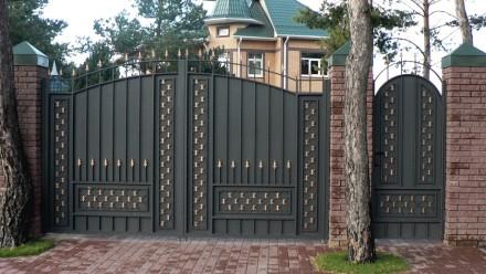 Въездные ворота,кованые. Кривой Рог. фото 1