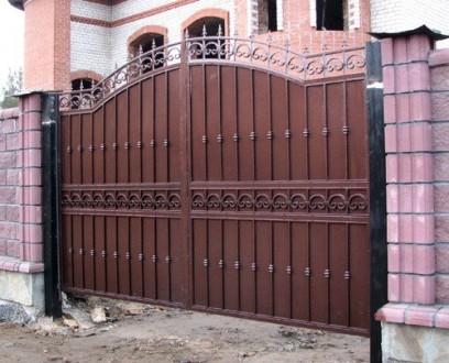 Ворота,калитки,заборы. Кривой Рог. фото 1