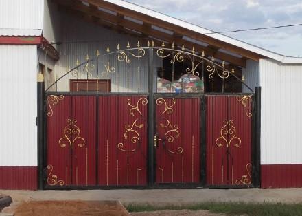 Изготовление ворот,еврозаборов. Кривой Рог. фото 1