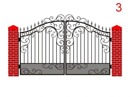 Ворота,калитка,распашные. Кривой Рог. фото 1