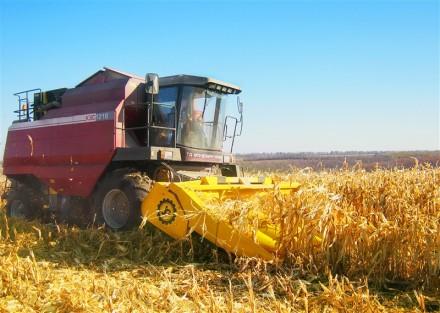 Жатка предназначена для отделения початков кукурузы, сбора и дальнейшего измельч. Бердянск, Запорожская область. фото 3