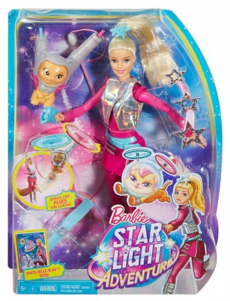 Barbie Star Light Galaxy Barbie Doll & Flying Cat. Київ. фото 1