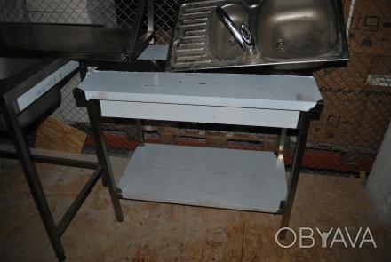 Стол производственный из нержавеющей стали для кафе ресторана бара новые цена бу