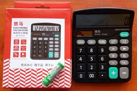 Калькулятор настольный 12-тиразрядный. Запорожье. фото 1