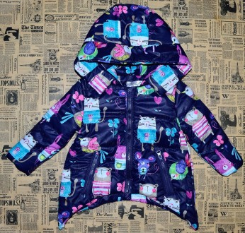 Куртка демисезонная, 86-116 см. Нежин. фото 1