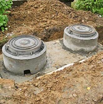Септик с колец бетонных. Кривой Рог. фото 1