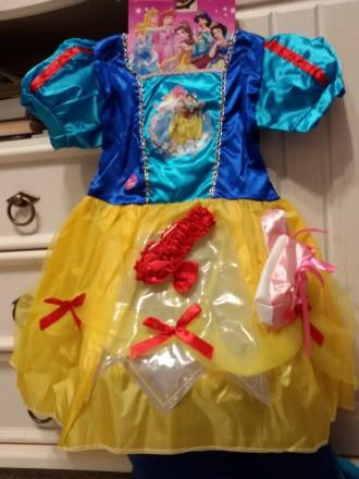 нарядное платье Белоснежки для девочки. Киев. фото 1