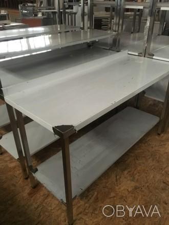 Столы производственные разделочные новые и на заказ