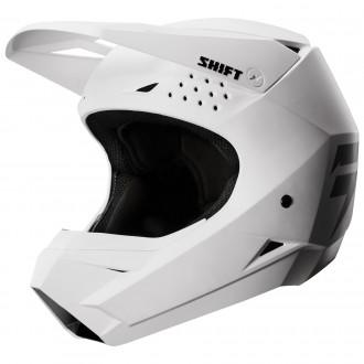 НОВЫЙ Мотошлем SHIFT Whit3 White/Мото шлем SHIFT белый/Шлем кроссовый/Эндуро/ATV. Киев. фото 1