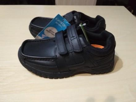 Кожаные туфли George p. 31 ( стелька 19 см ). Носок укреплён дополнительным слое. Чернигов, Черниговская область. фото 3